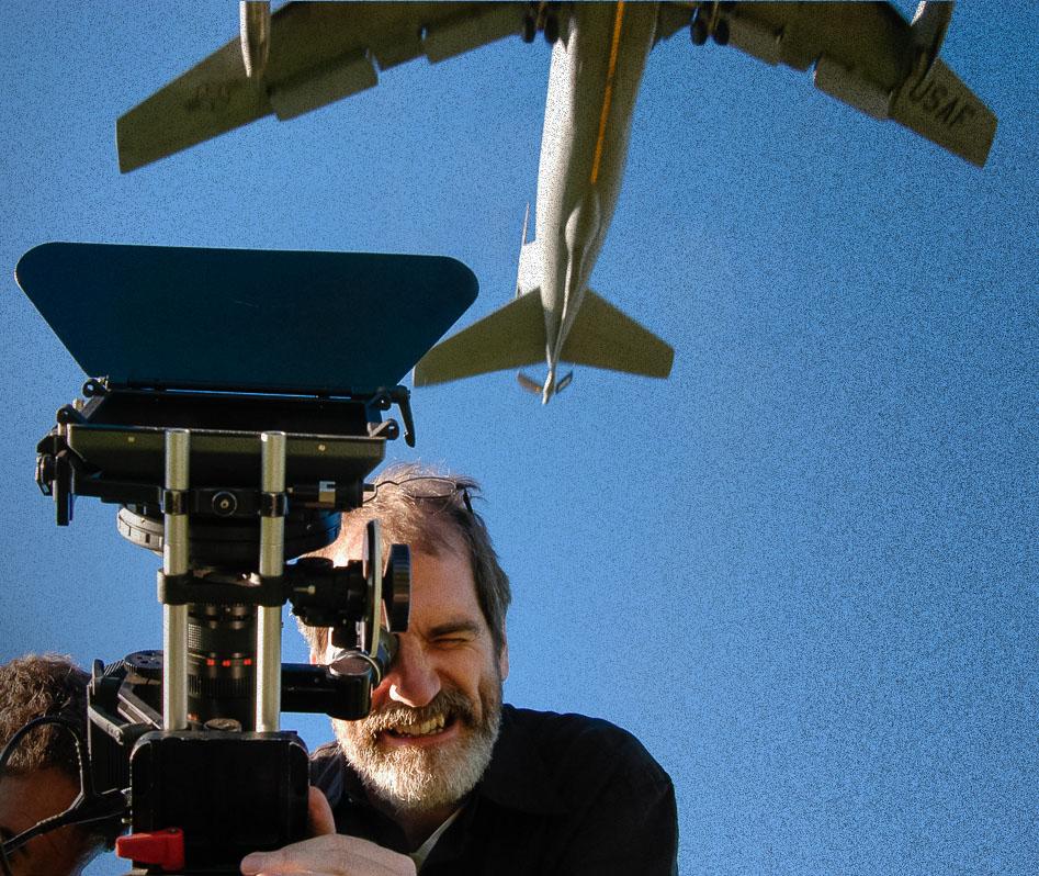 David Fuller, USAF Jet overhead