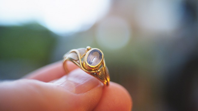 Hand-made ring