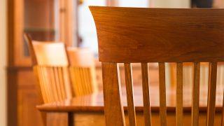 Cherry Shaker chairs